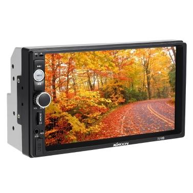 66% OFF KKmoon 7 inch 2 Din HD BT Car Radio MP5 Player,limited offer $38.9