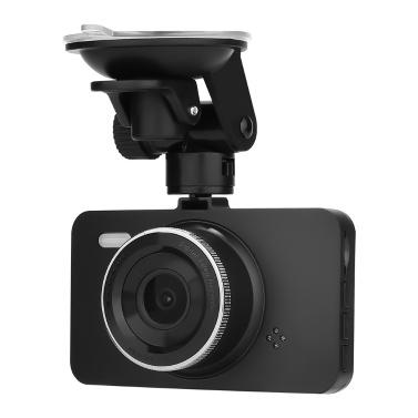 V41 1080P pantalla LCD de la cámara del tablero de instrumentos del coche DVR de 3 pulgadas 170 ° de ángulo ancho