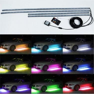 """36 """"* 2 & 48"""" * 2 Farben LED Kit mit RGB Wireless Fernbedienung unter Auto Neon Unterlage Lichter"""