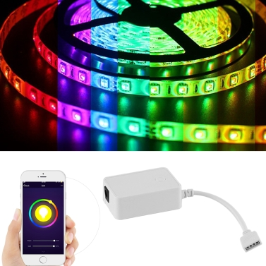LED Flexible Strip Light Kit +Controller +Power Adapter,limited offer $28.69