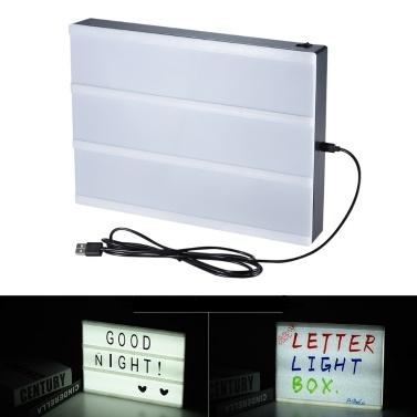 33% de réduction sur les panneaux LED de la boîte à lumière LED de la série LED DIY, seulement 12,99 € sur tomtop.com + livraison gratuite