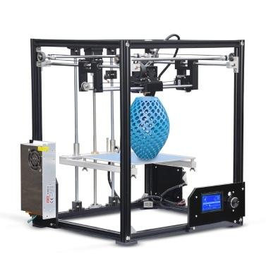 Tronxy X5 Impression Taille 210 * 210 * 280mm Plein Métal Frame 3D Printer Kits seulement € 215,24