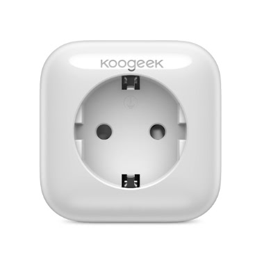 Koogeek Wi-Fi Enabled Smart Plug Compatible with Alexa Works with Apple HomeKit and the Google Assistant