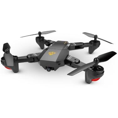 VISUO XS809W Upgraded Version XS809HW 2.4G Foldable RC Quadcopter Wifi FPV Selfie Drone - RTF
