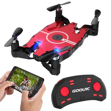 GoolRC T49 WIFI 720P caméra HD 2.4G | FPV Pliable RC Quadcopter - RTF seulement € 28.4