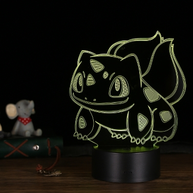 Lámpara de escritorio LED Illusion Lámpara de mesa colorido de noche