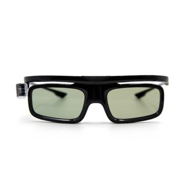 GL1800 Projektor 3D-Brille Active Shutter Wiederaufladbare DLP-Link für alle 3D-DLP-Projektoren Optama Acer BenQ ViewSonic Sharp Dell