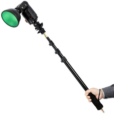 """Godox AD-S13 21-63""""/55-160cm Portable Light Boom Pole Stick 1/4"""" Male Thread for WITSTRO Flash AD180 AD360"""