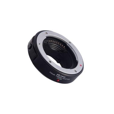 Viltrox JY-43F AF Fokus Autofokus-Adapter-Ring Metallhalterung für 4/3 Objektiv Micro M4 / 3 Montieren Sie die Kamera für Olympus E-PL1 PL2 PL3 E-P1 Panasonic G3 DSLR Kamera