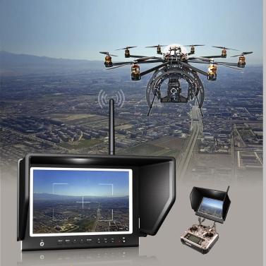 """Lilliput 7 """"664 / W Schlank HD IPS Wireless Monitor 5,8 GHz FPV Luft Fliegen Phantom HDMI Kamera"""