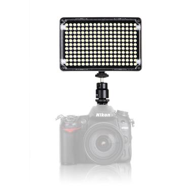 Aputure Amaran AL-H198C Kamera LED-Licht CRI95 + 3200-5500K Temperatureinstellung mit Blitzschuh montieren Tragetasche