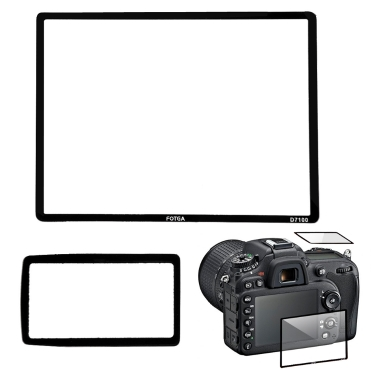 Fotga Professionelle LCD optisches Glas-Schirm-Schutz für Nikon D7100 DSLR Kamera