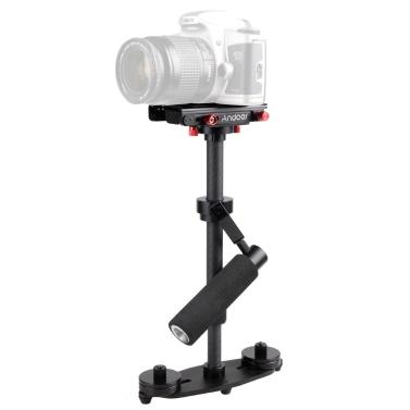 Andoer Mini Camera Carbon Fiber Stabilizer Handheld Steadycam Camcorder DV Video Camera DSLR