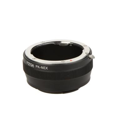 Fotga PK-NEX Adapter Digital Ring for Pentax PK K Mount Lens to Sony NEX E-Mount Camera (for Sony NEX-3 NEX-3C NEX-3N NEX-5 NEX-5C NEX-5N NEX-5R   NEX-5T NEX-6 NEX-7)