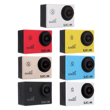 """SJCAM SJ4000 WiFi 1080P Full HD-Action-Kamera-Sport DVR 30M wasserdichte 1,5 """"170 ° Weitwinkelobjektiv mit Batterie und USB-Kabel Zubehör"""