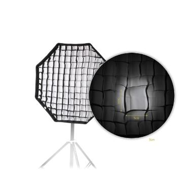 80cm/31,5 En Octagon Softbox Brolly Paraguas Reflector Con El Panal Rejilla De Fibra De Carbono Soporte Para Luz De Flash Speedlite