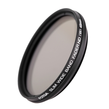 Fotga 49mm Slim Fader Variable ND Filter Adjustable Neutral Density ND2 to ND400