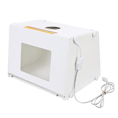 SANOTO 16 « x 12 » Mini Portable Kit Photo photographie Studio boîte lumière  Softbox MK40 110V