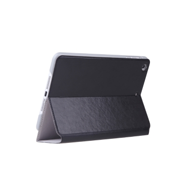 dodocool 360 Degree Rotating PU Leather Swivel Flip Stand Case Cover Protective Shell for iPad mini with Retina display Black