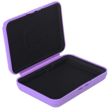 "dodocool 3,5"" HDD Hard Drive Storage Case Box Protector haltbar lila"