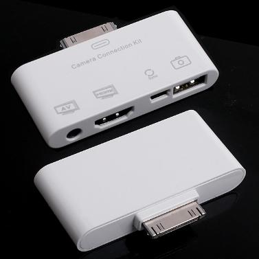 HD & -AV USB Anschluss für iPad