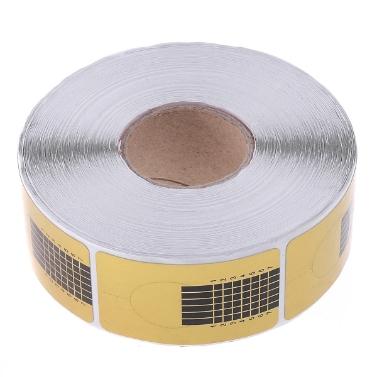 500pcs Nagel Formen für Acryl UV-Gel
