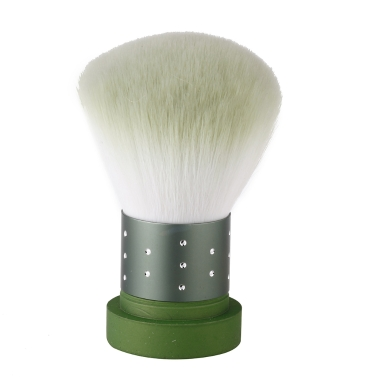 Make-up Pinsel Foundation Puder Rouge kosmetische Werkzeug grün