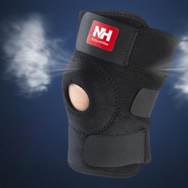 NatureHike Football Basketball Volleyball Black Durable Knee Shin Protector Guard Pad Kneepad