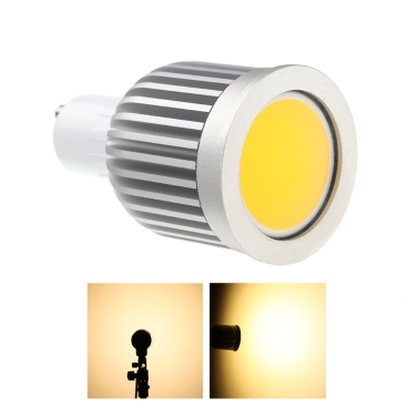 GU10 5W COB LED Spotlight Bulb Lamp Energy Saving High Brightness Warm White 85-265V