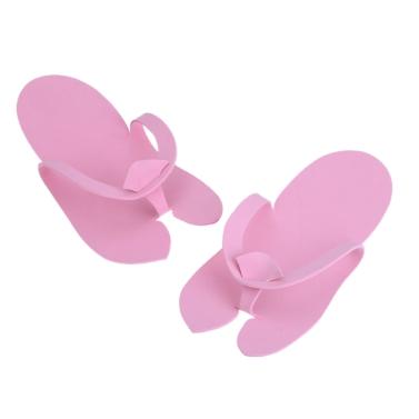 12 Pair Disposable Slippers Soft Flip Flop Foam Slipper Pedicure Salon Foot Spas