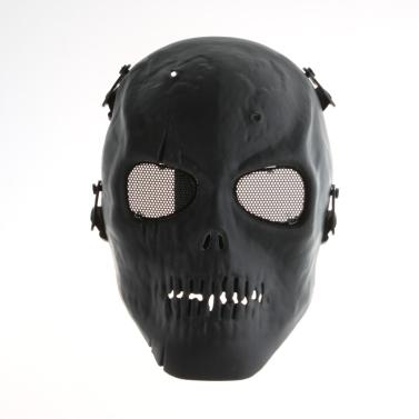 Schädel Skelett Armee Softairwaffe volles Gesicht
