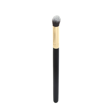 Professionelle Kosmetik Pinsel Gesicht Make-up Rouge Powder Foundation Tool kleine Runde Kuppel Holz + Aluminium