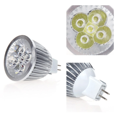 Buy Dimmable LED Light Spotlight Lamp Bulb White 5W MR16 12-24V Energy-saving