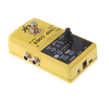 NUX SchleifeKernGitarre Elektrisches Effektpedal 6 Stunden Aufnahmezeit Eingebauter Trommel Muster
