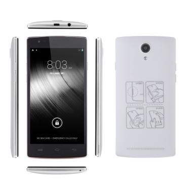 """MIJUE L100 4G FDD LTE TDD-LTE Smartphone Android4.4 MT6582M + MT6290 Quad-Core 5,5"""" IPS Bildschirm Geste Sensorik OTG 1GB RAM 8GB ROM 2MP 8MP Dual-Kameras"""