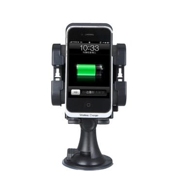 Qi Wireless Car Charger Transmitter In-Car Charging Nexus 4 Nokia Lumia 920 HTC Droid DNA iPhone 4/4s/5 Samsung S4