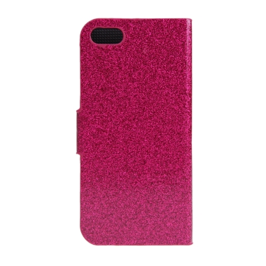 Fashion Brieftasche Flip Leder Stand Hülle mit Kartenhalter für das iPhone 6 Plus schwarz