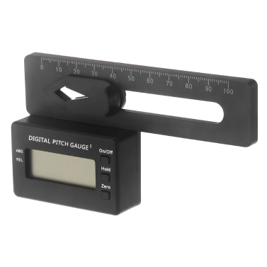 LCD Digital Pitch Gauge For Align TREX 150-700 Flybarless Helicopter (Digital Pitch Gauge)