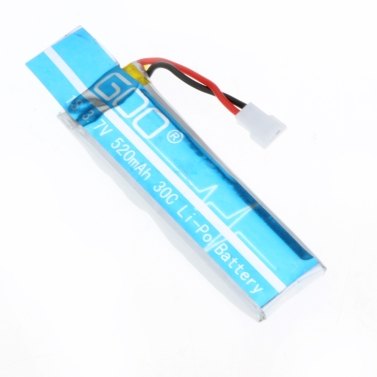 Wltoys V977-006(VA13) 3.7V 520mAh 30C Lipo Battery 2Pcs for RC 6CH 3D Helicopter Wltoys V977 V930 Battery