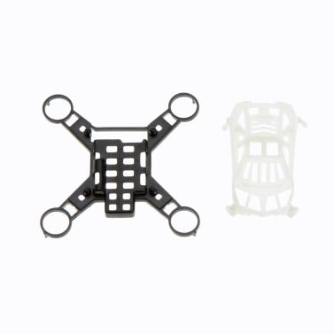 100% Original H1 4CH Mini Quadcopter Part H1-01 Canopy+Frame White+Black