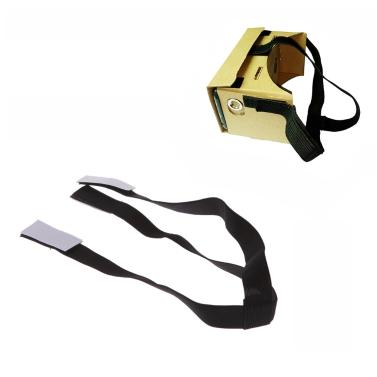 Abnehmbare elastische Verstellbare Kopfmontage Bügel Gurt für Google Pappkarton Virtual Reality VR 3D-Brille