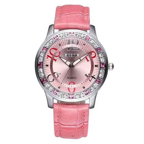Tomtop coupon: Vintage High Quality Fashion Quartz Wristwatch Bling-bling Rhinestone Embedded Women Elegant Watch