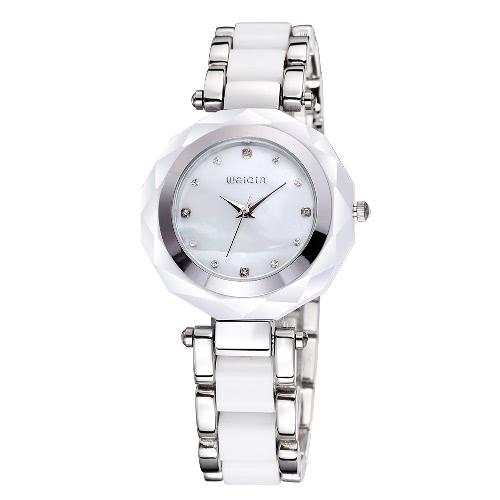 WEIQIN Fashion Ladies Elegant Bracelet Watch Luxury Quartz Watch Charm Rhinestone  Women Dress Watch
