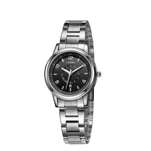 SINOBI Brand Fashion Casual Simple Deaign Lover's Quartz Watch