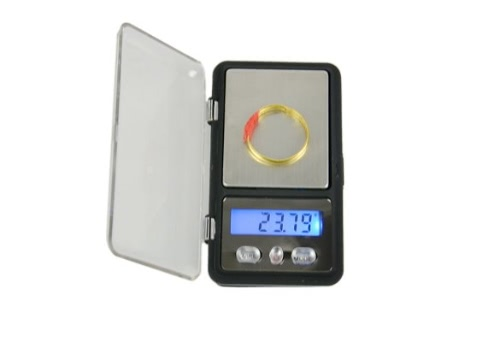 100g x 0.01g digitale professionale Weigh Scale tasca Scala