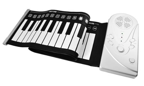 Flexible Roll Up Electronic Keyboard Piano portable 49