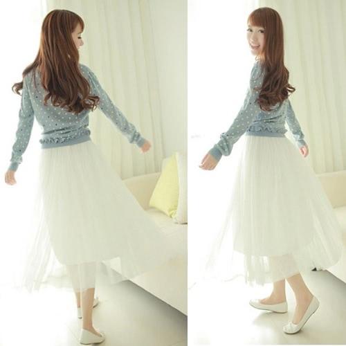 Nowa damska Księżniczka Fairy Style 5 warstw Tulle Dress bouffant Spódnica 4 kolorach