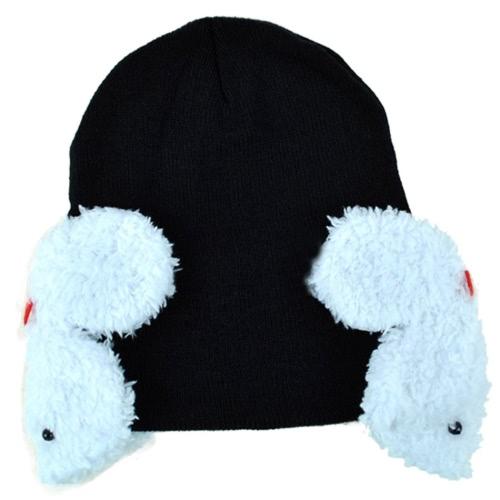 New Baby Toddler Kids Boys Girl Winter Ear Flap Warm Hat Beanie Cap Crohet Rabbit 4Colors