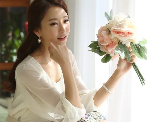 New Fashion Women's Chiffon Floral 3/4 Sleeve Summer Casual Dress Beach Sundress With Belt