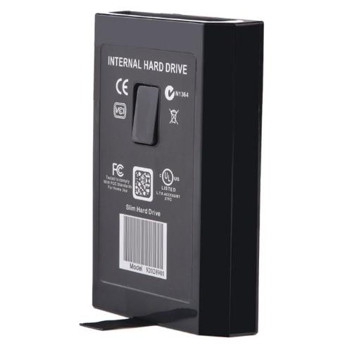Black 120G 120GB Hard Drive Disk Kit for HDD XBOX 360 Internal Slim